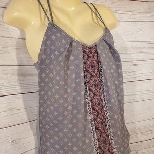 Maurices Tops - Maurices Gray Multi Color Tank Top